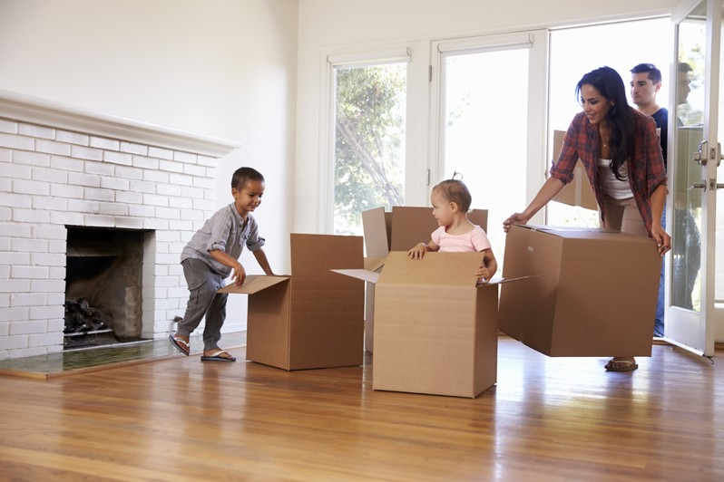 Moving House With Kids: Here's how to make it tear-free!
